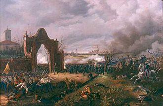 First Italian War of Independence - Image: Novara Villa Mon Repos 1849 Prina 1863