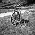 Novejši kolovrat (cca. 50 let), iz Hotedrščice prišel, Prapetno 1954.jpg