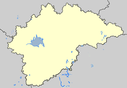 Kholm is located in Novgorod oblast