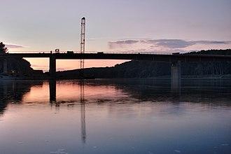 D7 road (Croatia) - New Drava Bridge, carrying D7