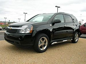 2008 Equinox LTZ picture taken by me outside t...