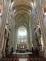 Noyon (60), cathédrale Notre-Dame, nef, vue vers l'est 8.jpg
