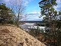Nuo Lantainių piliakalnio link Nėries-view from the mound towards Nėris river - panoramio.jpg
