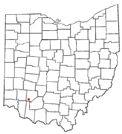 Location of Midland, Ohio