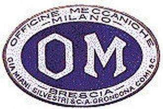 Officine Meccaniche - Image: OM Officine Meccaniche Milano Logo