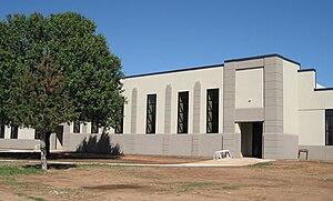 Asher, Oklahoma - Asher School following renovation.