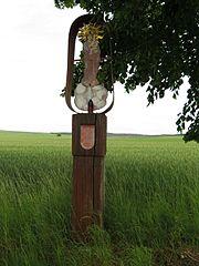 Sloup s obrazem Panny Marie Svatohorské / boží muka