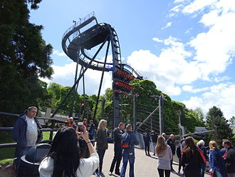 Alton Towers - View of Oblivion