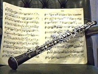 Oboe concerto - Image: Oboj
