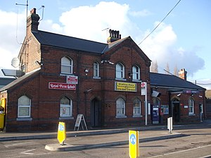 South Ockendon - Image: Ockendon station building