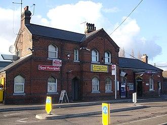 South Ockendon - Image: Ockendon station building