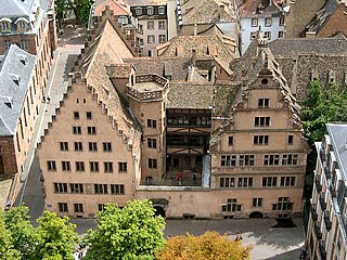 Museum in Strasbourg, France. Upper Rhenish arts from the 11th to the 17th century, including artworks from Strasbourg Cathedral.