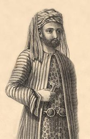 Baban - Omar Agha (officer for Mahmoud Pasha of Baban), 1820