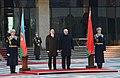 Official welcoming ceremony for Ilham Aliyev was held in Belarus 08.jpg
