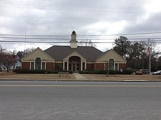 Oglethorpe, Georgia - Oglethorpe municipal building in Oglethorpe