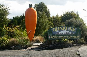 Ohakune - Ohakune Big Carrot