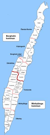 Ottenby landskommune i Kalmar amt