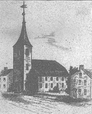 Second Church, Boston - Old North Church, North Square, Boston, 17th-18th century