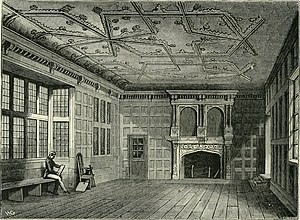 "Star Chamber - Engraving of the Star Chamber, published in ""Old and new London"" in 1873, taken from a drawing made in 1836"