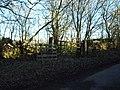 Old gateway plus spare gate - geograph.org.uk - 331877.jpg