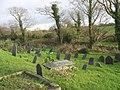Old graves in Llanfaelog Churchyard (2) - geograph.org.uk - 1055734.jpg