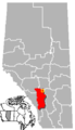 Olds, Alberta Location.png