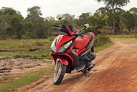 On a motorbike on Cambodia roads.jpg