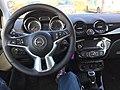 Opel Adam Basisversion Cockpit.JPG