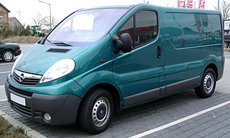 IBC Vehicles - Image: Opel Vivaro front 20080409
