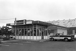Hardee's - First Hardee's franchise in Rocky Mount, North Carolina, 1980s