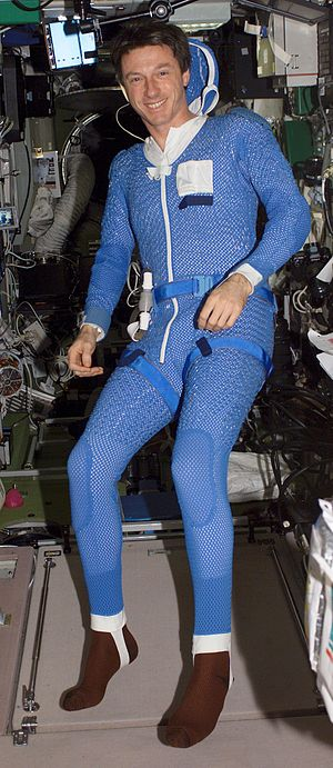 Liquid Cooling and Ventilation Garment - Image: Orlan LCG Michael Foale Expedition 8