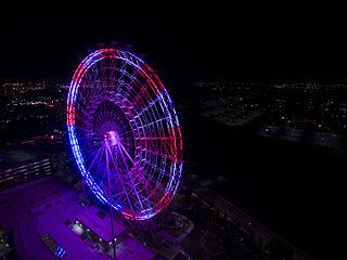 The Wheel at ICON Park Orlando ferris wheel in Orlando, Florida