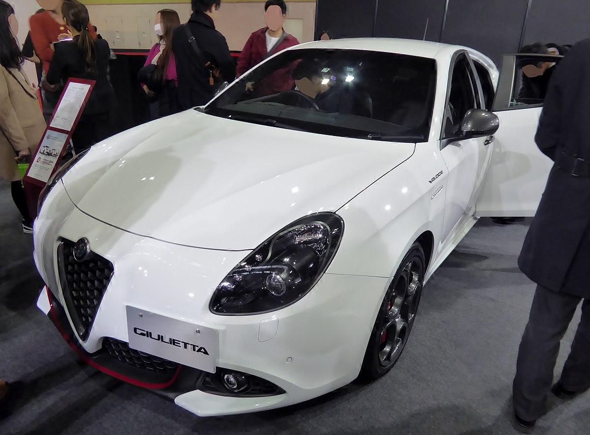 File Osaka Motor Show 2017 147 Alfa Romeo Giulietta Veloce Aba 940181 Jpg Wikimedia Commons
