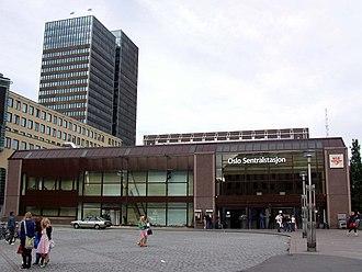 John Engh - Oslo Central Station