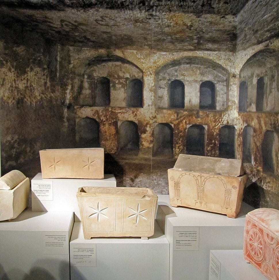 Ossuaries of Jesus son of Joseph and more