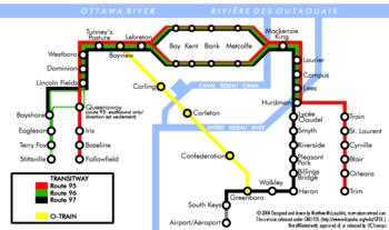 Ottawa Subway Map.User Montrealais Metro Maps Wikivisually