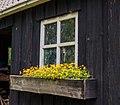 Oud scheefgezakt houten tuinschuurtje. Locatie, Tuinreservaat Jonkervallei 03.jpg