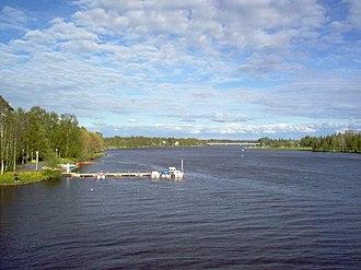 Oulujoki - Oulujoki river in Laanila, Oulu