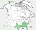 Oxalis priceae US-dist-map.png