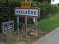 Oxelaere city limit sur la D933.jpg