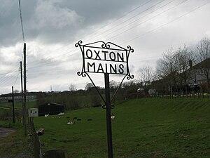 Oxton, Scottish Borders - Image: Oxton Mains