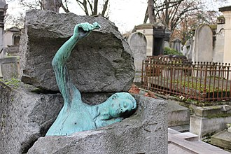 Charlotte Dubray - Grave of Georges Rodenbach