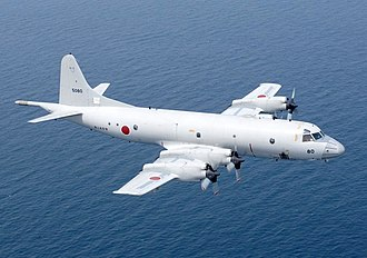 Lockheed P-3 Orion - A P-3C of the Japan Maritime Self-Defense Force