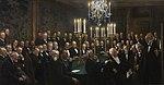 P.S. Krøyer, Et møde i Videnskabernes Selskab, 1897, Det Kongelige Danske Videnskaberners Selskab.jpg