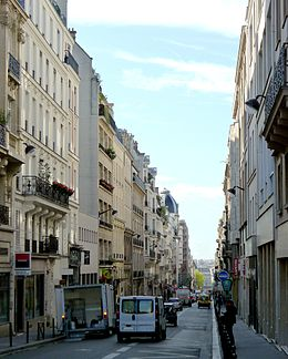 image illustrative de l'article Rue d'Amsterdam (Paris)