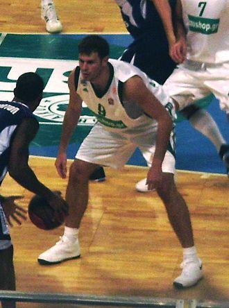 Antonis Fotsis - Fotsis, as a Panathinaikos player, in 2008.