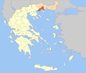 Kavala (regional unit) - Image: PE Kavalas