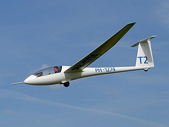 Glider (sailplane) - Sailplane (Rolladen-Schneider LS4)