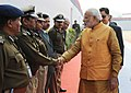 PM Modi arrives for the National Conference of DGPs at Guwahati in 2014.jpg