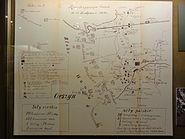 POL Cieszyn Muzeum ŚC - Mapa bitwy skoczowskiej